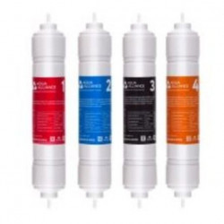 Комплект фильтров для очистки воды Aqua Allianceв 14 дюймов - 4шт.