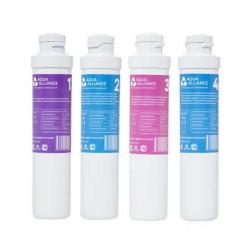 Комплект фильтров для очистки воды SMART Aqua Alliance - 4шт.